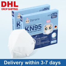 5PCS N95 Mask FDA CE Certification Mouth Face Mask Dust Anti Infection KN95 Masks PM2.5 Anti-fog Protective Respirator Reusable