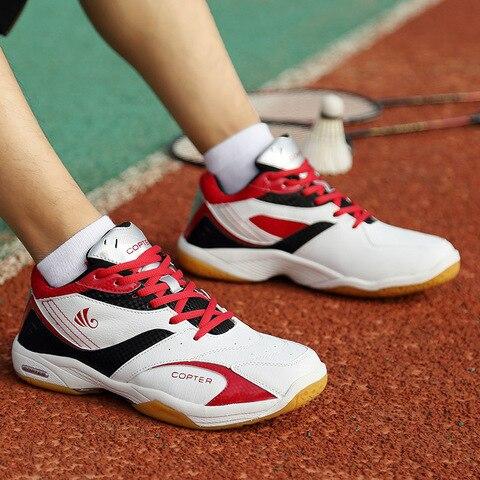 Sapatos de Badminton Tênis de Exercício Homem Tênis Forro Treinamento Deslizamento Formadores Zapatillas Hombre Erkek Spor Ayakkabi Não