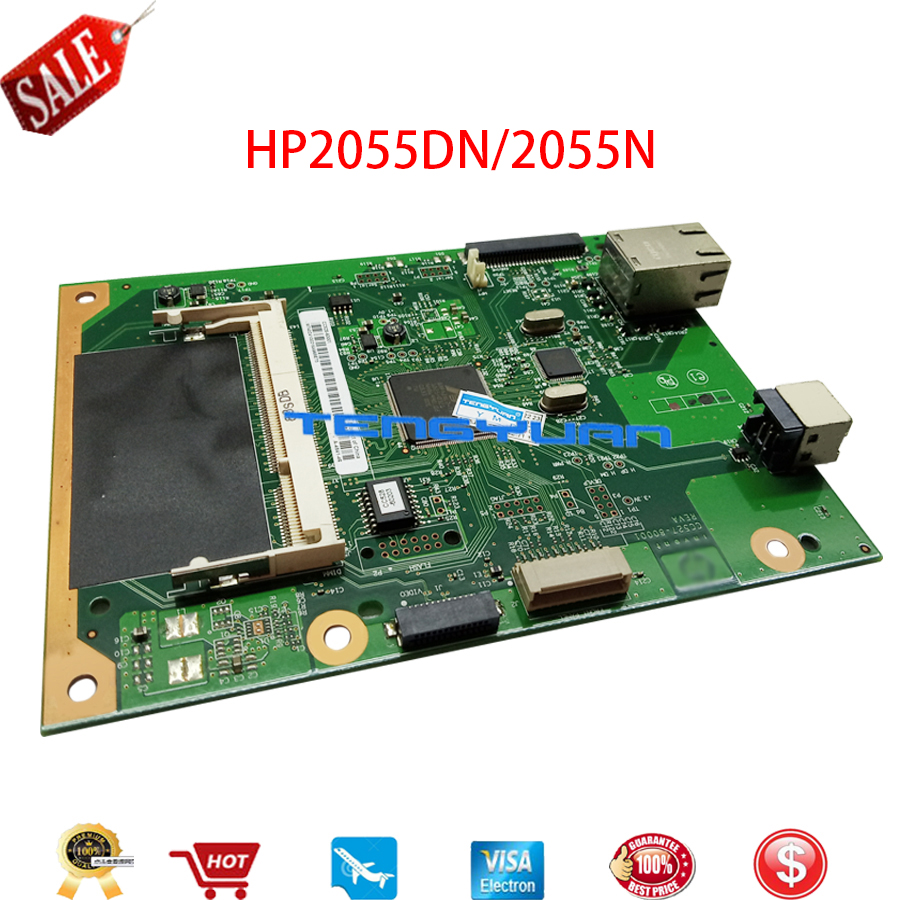 Original For HP P2055DN P2055D P2035N P2035 P2055 Formatter Board CC528-60001 CC527-60001 CC525-60001 CC526-60001 Motherboard