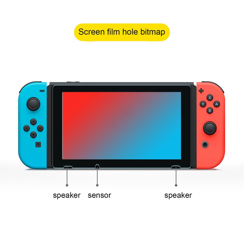 Купить с кэшбэком Ultra Thin Screen Protectors Anti-Scratch Protective Film For Nintend Switch Console For NS Screen Skin Cover Hot
