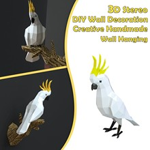 Wall-Decoration Paper-Craft-Model DIY Handmade Party-Gift Stereo Creative