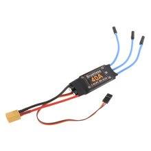 40A Bürstenlosen ESC XT60 Stecker Durable RC Quad Spielzeug Komponenten Zubehör