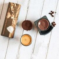 ICafilas لدولتشي غوستو كبسولات القهوة مرشحات كوب إعادة الملء قابلة لإعادة الاستخدام دوتشي غوستو سلال الشاي القهوة المنقط-في مرشحات القهوة من المنزل والحديقة على