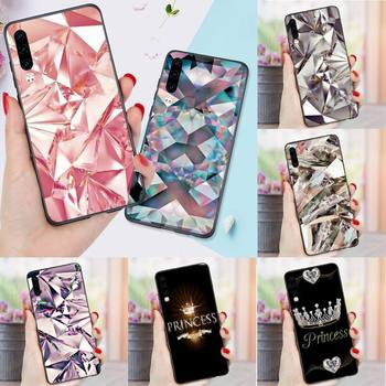 Crystal Cool Diamond glitter Phone Case For Huawei P 9 8 10 40 Mate 30 Honor 8 8A 20 20s 9x nova 6se 5t Y9s PSMART lite pro 2017 image