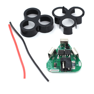 Image 3 - 3/4 Series 12V Power Tool Protection Board 18650 Battery Holder Hand Drill Lithium 18650battery BMS DIY 18650 Circuit Board