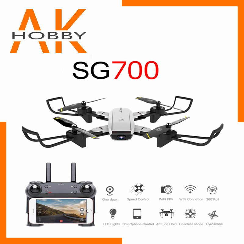 2020 New SG700D rc drone 4K quadcopter quadrocopter dron drones with Hd motion camera       profissional drohne VS X8 SG901 S20 toys