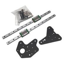 Funssor 1pcs MGN12H linear rail Creality Ender 3 Pro CR 10 S4/S5 Z axis  upgrade kit Ender 3 Hiwin linear rail mod set