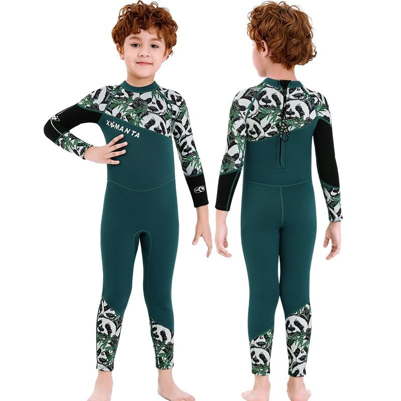 Купить детский гидрокостюм из неопрена эластичный детский купальный