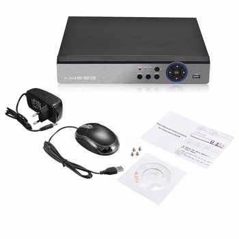 4 channel DVR 5M-N Hybird NVR H.265 5 in 1 CCTV Video Recorders For 5MP AHD/CVI/TVI/CVBS/IP Camera