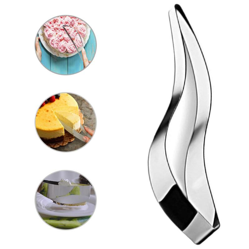 Mold-Clip Utensil-Gadget Cake-Slicer-Cutter Edible Stainless-Steel Perfect Kitchen Curved-Integrated title=