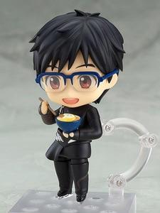 Ю! На льду Yuri Katsuki фигурка 736 Коллекционная модель игрушки 10 см