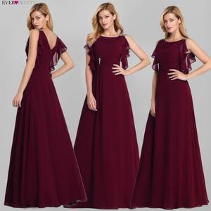 Image 2 - Szmaragdowe zielone sukienki Ever Pretty EP07891DG sukienki dla matki panny młodej zroszony linia bez rękawów 2020 Farsali długie suknie wieczorowe