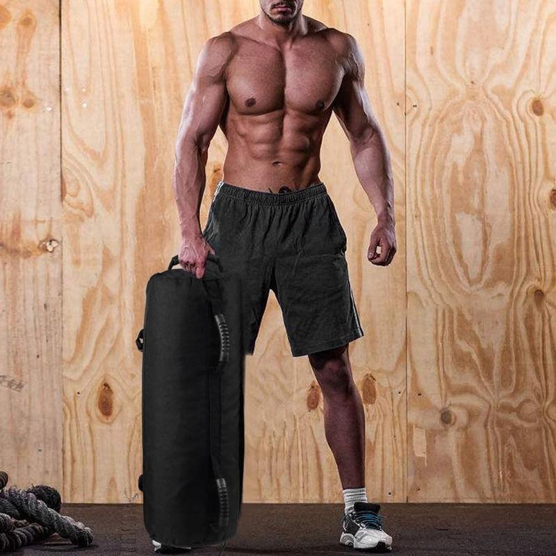 de areia resistente do gym do treino (preto (10-60lbs))