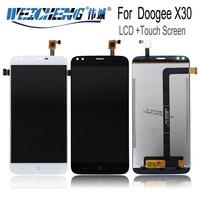 5.5 인치 doogee x30 lcd 디스플레이 + 터치 스크린 100% 테스트 스크린 디지타이저 어셈블리 교체 + 무료 도구