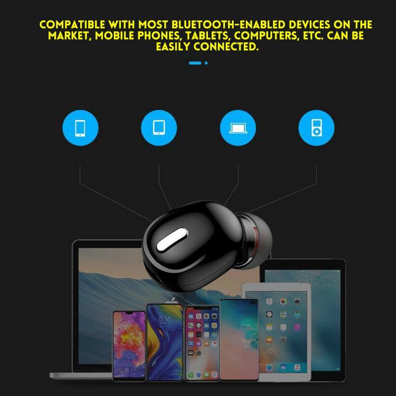 Mini X9 bežične bluetooth slušalice za slušalice sportske igraće - Prijenosni audio i video - Foto 6