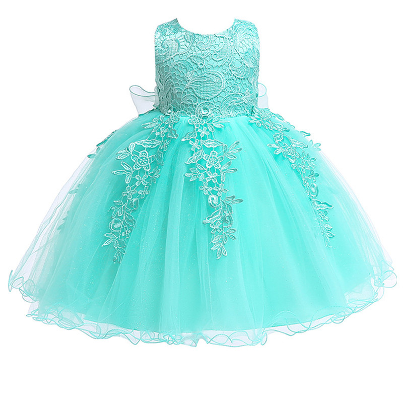 Hdbfd4c3d6c394210b3c2db531086a47bB 2019 Kids Tutu Birthday Princess Party Dress for Girls Infant Lace Children Bridesmaid Elegant Dress for Girl baby Girls Clothes