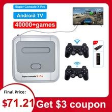 Video Game Console Pre install 40000 Games Built in 40+ Emulators 4K HDMI Compatible Output 128G Mini Portable Retro Game Player