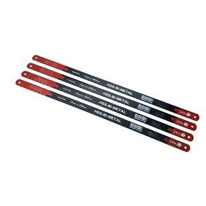 Image 2 - 4PC 24TPI Sägeblätter Superflex HSS BI METAL 12mm * 300mm Hohe Qualität M2 & CRV6150 Matrial für Hacksaw hand Werkzeuge