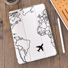 世界旅行用4 ipadケース鉛筆ホルダー10.2 8th 2020 7th 12.9プロ11 2018ミニ5カバーのための10.5空気1 2 3