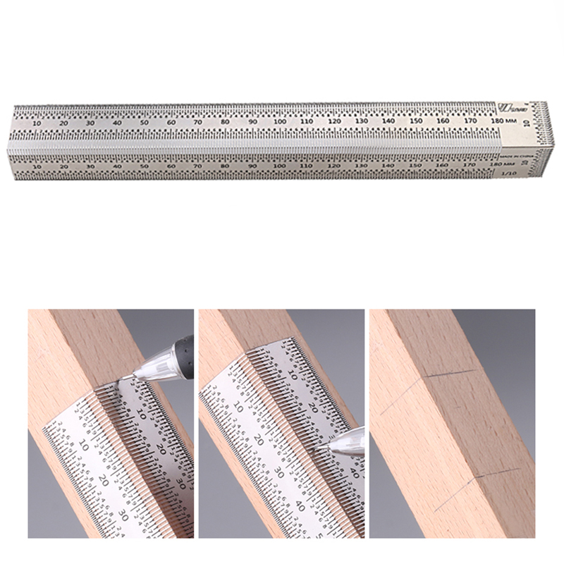 Tootock Measuring Right Angle Ruler
