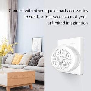 Image 2 - Блок управления умным домом Aqara Gateway 3 Zigbee, хаб для умного дома Xiaomi с функцией RGB ночного освещения, работает с приложением Mi home HomeKit