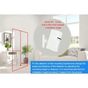 Image 3 - Smart Home Wifi อินฟราเรด Motion Sensor เครื่องตรวจจับ PIR ไร้สาย Pir ระบบสนับสนุน APP TUYA ความปลอดภัย Anti theft
