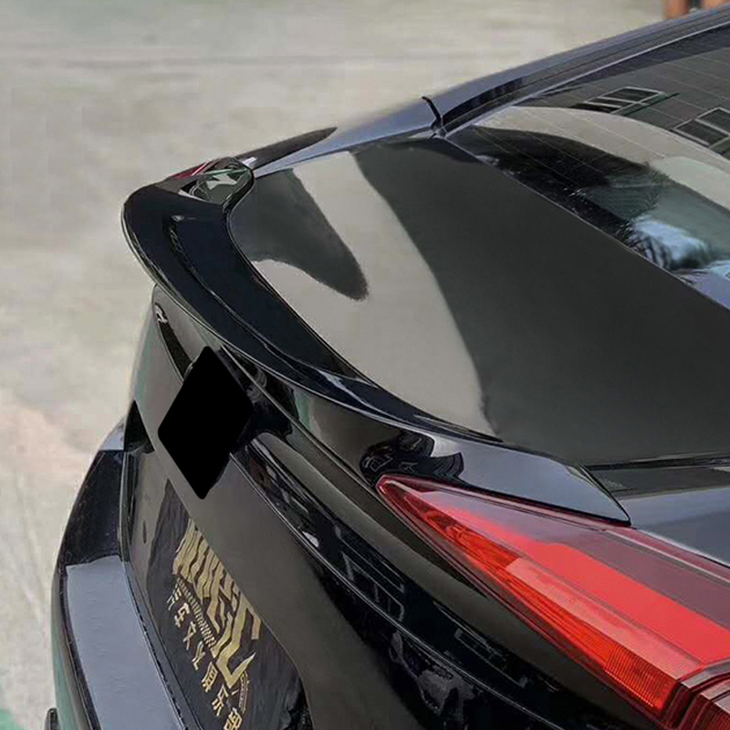 Suitable for 16-20 generation 10 Civic tail modifications Fever FR510 small pressure canard tail perforated sports car wings