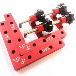L-квадратный деревообрабатывающий головоломки клипса с углом 90 градусов правый угол обнаружения правило деревообрабатывающий инструмент
