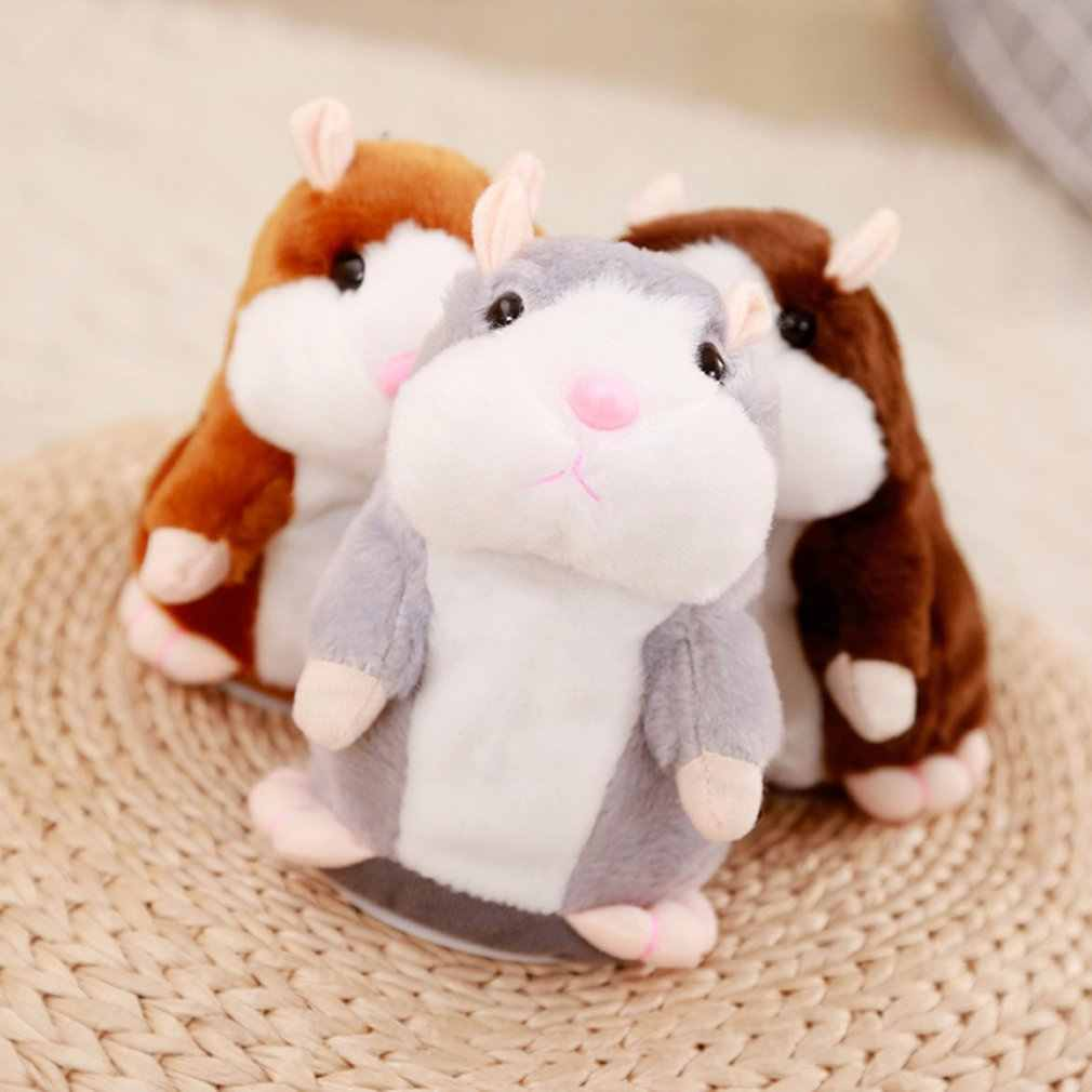 Douyin 연예인 스타일 장난감 이야기 작은 햄스터 전기 플러시 장난감 산책 윌 메타 폰 쥐