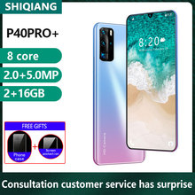 Soyes New P40pro 16GB 2gb Octa Core Face Recognition 5MP Cell-Phones Smartphone Dual-Sim