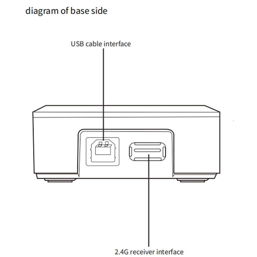 scanner qr sem fio com fio 1d