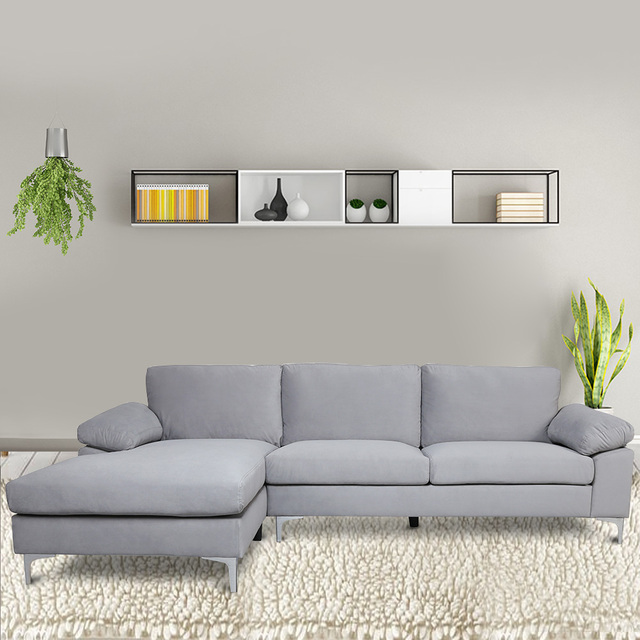 Modern Nordic Style Sectional Sofa Bed  1