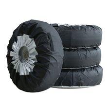 Защитный чехол для шин, водонепроницаемый чехол для автомобильных легковых шин, запасная крышка, защита от ультрафиолетовых лучей, защитные мешки для хранения колес