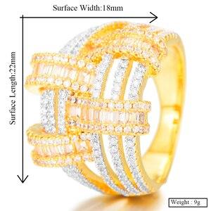 Image 5 - GODKI 2019 Trendy Cross Geometry Cubic Zirconia Stacks Rings for Women Finger Rings Beads Charm Ring Bohemian Beach Jewelry 2019