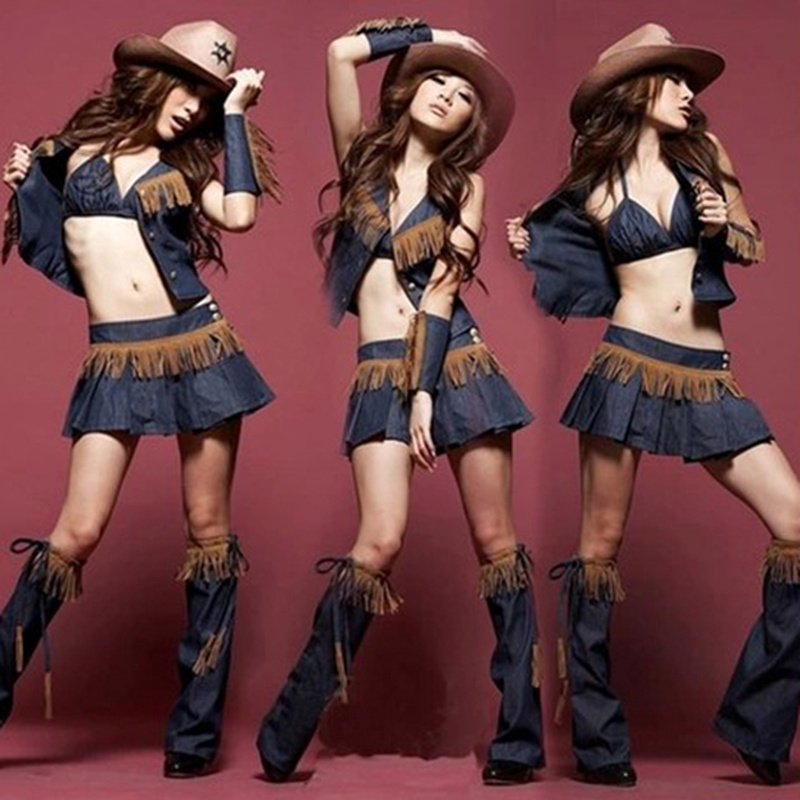 Party Costumes Sexy Cowgirl Dress Cosplay Costumes Fancy Dress Vaquera Ropa De Juego Vestido For Women