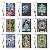 Special Shaped 5d Diamond Painting New Arrivals Notebook Diamond Embroidery 64 Pages A5 Diary Book Mosaic Pictures Gift