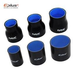 EPLUS Silicone tubing Hose Intercooler Turbo Intake Pipe Coupler Hose Universal Straight Multiple sizes black Length 76mm