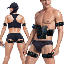 Fitness-Belt Abdominal-Equipment Muscle-Instrument Abs-Paste Exercise-Training Stimulator