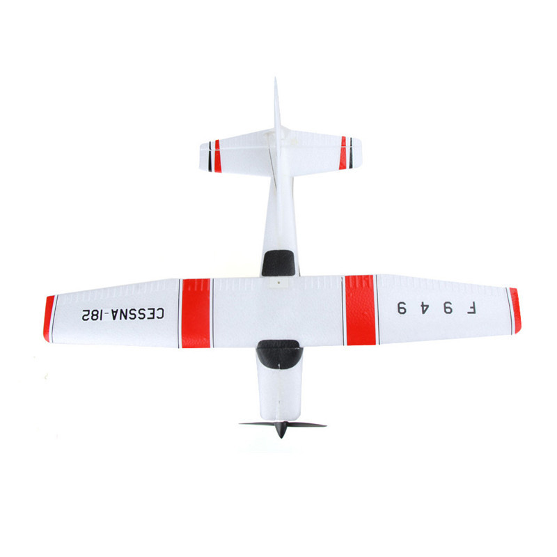 F949 Foam Airplane Hand-Tossed Fixed-Wing Glider Model Airplane Children Electric Remote Control Aircraft Toy