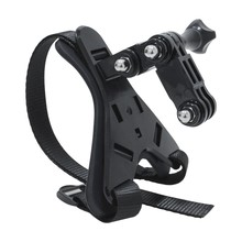 ABHU-Full Face Helmet Chin Mount Holder Ski/Motorcycle Helmet Stand for DJI/GoPro Hero 8 7 6 5 SJCAM Action Camera Accessories(China)
