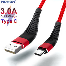 20cm 1m 2m 3m Fast Charge Type C USB C Cable For Samsung Huawei Xiaomi Type-C USBC Charger Origin Mobile Phone Wire Long Short(China)