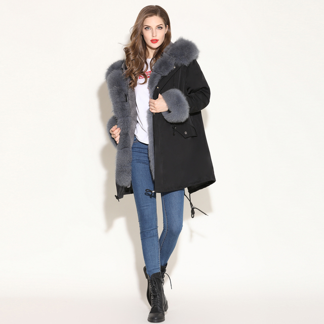 Fur Parka Winter Jacket