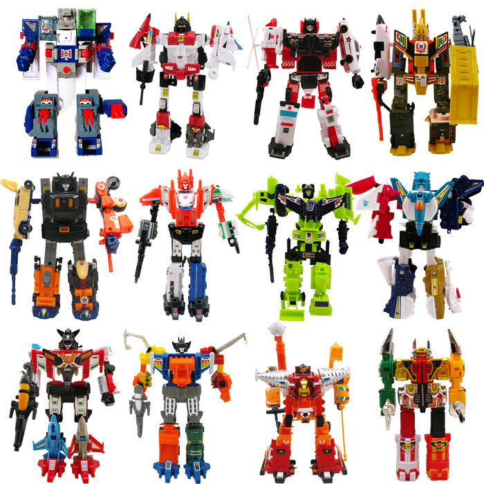 Lensple WST Transformation G1 Fortress Maximus Mini KO Autobots Figure Toy Robot For Gift With Retail Box