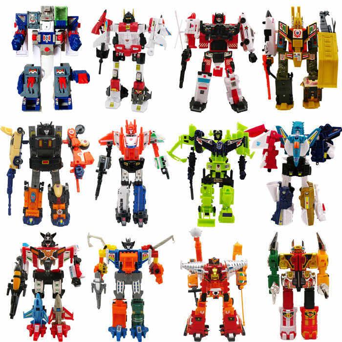Lensple WST transformacja G1 forteca Maximus Mini KO autoboty figurka zabawka Robot na prezent z opakowanie detaliczne