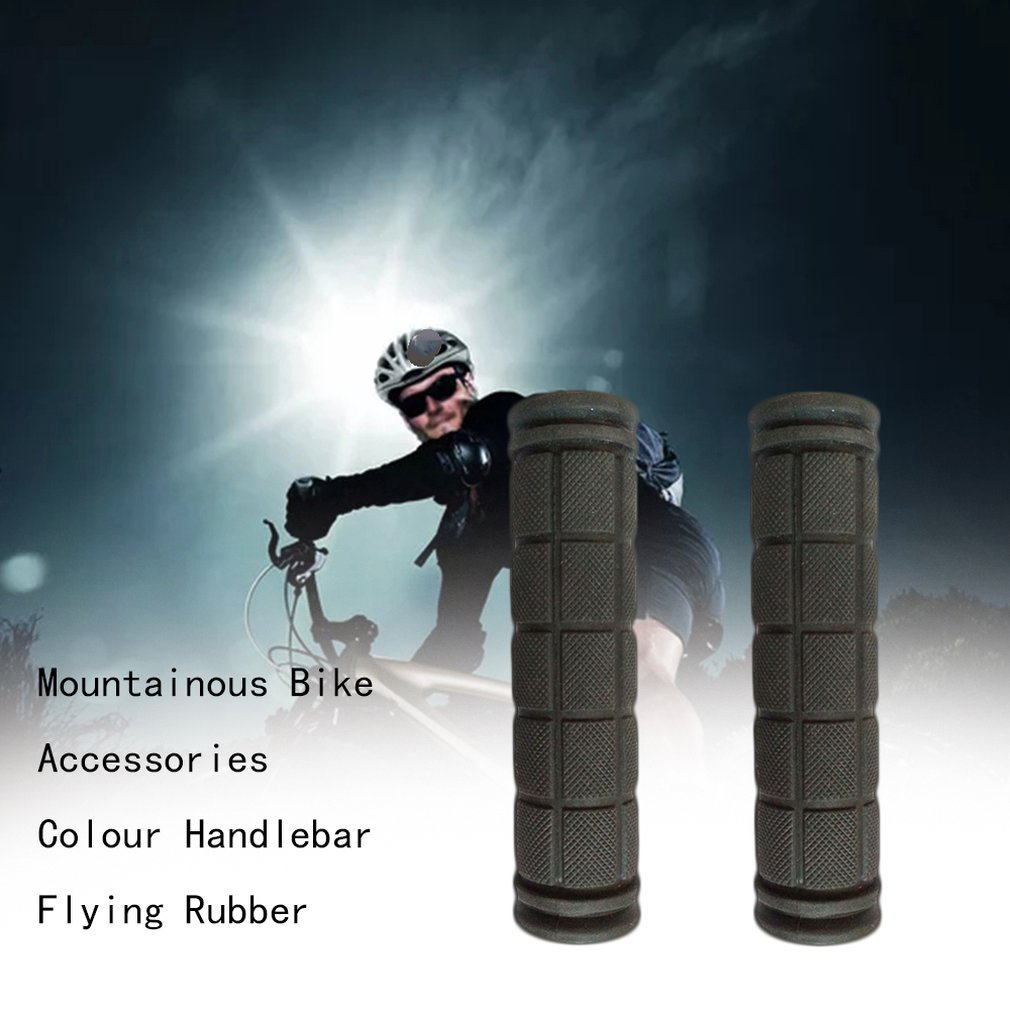 Dead Coaster Sets Of Mountain Bike Accessories Color Set Of Dead Coaster Rubber Super Soft Comfortable Handle