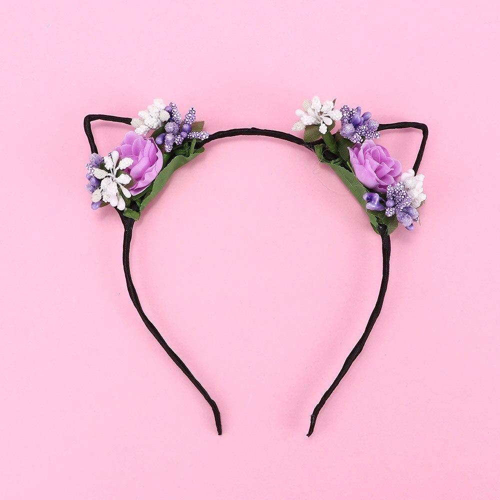 Girls Headbands Scrunchy Children Hair Accessories Fruit Pattern Headwear techno