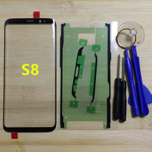 For Samsung Galaxy S8 G950 G950F Original Phone Front Outer Glass Panel For Samsung S8 Plus G955 G955F Touch Screen Replacement(China)