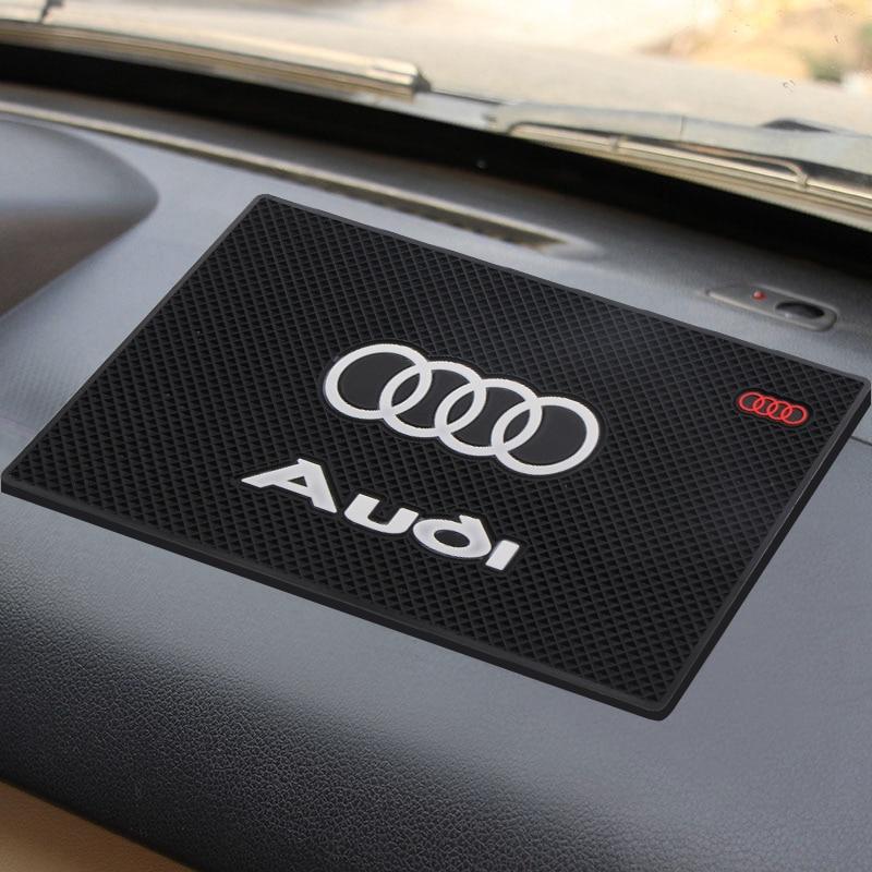1 PCS Car Accessories Car Anti Slip Mat GPS Phone Holder Non-Slip Mat Pad For Audi A3 A4 A5 A6 A7 A8 B5 B6 B7 B8 C6 C7 C8 8v 8p