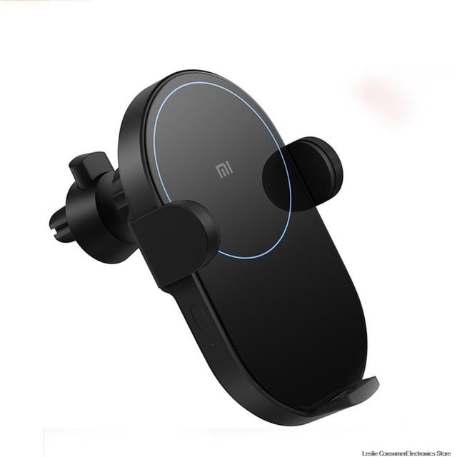 Xiaomi Mi 20W Max Qi Wireless Car Charger WCJ02ZM with Intelligent Infrared Sensor Fast Charging Car Phone Holder dropshipping 5