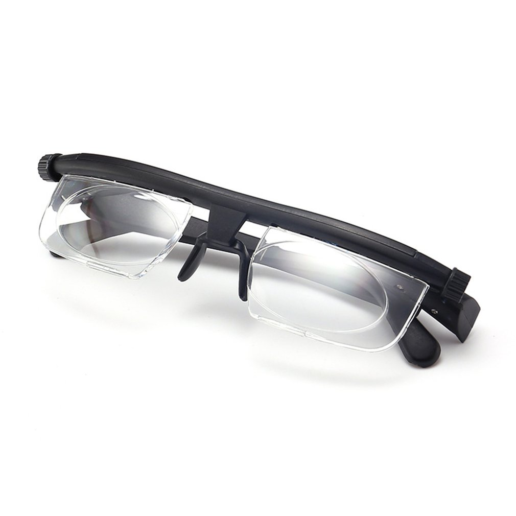 Adjustable <font><b>Glasses</b></font> Non-Prescription Lenses for Nearsighted Farsighted Computer <font><b>Reading</b></font> Driving <font><b>Unisex</b></font> Variable Focus <font><b>Glasses</b></font> image